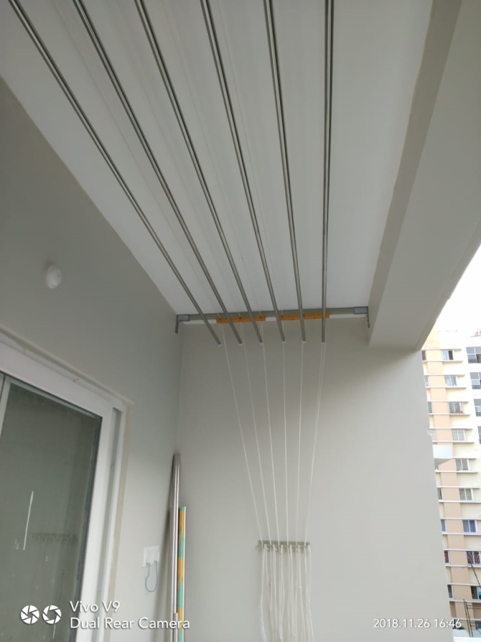 Ceiling Cloth Hangers Hyderabad Cloth Drying Ceiling